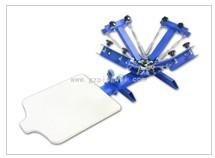 四色一工位单轮转丝网印刷机