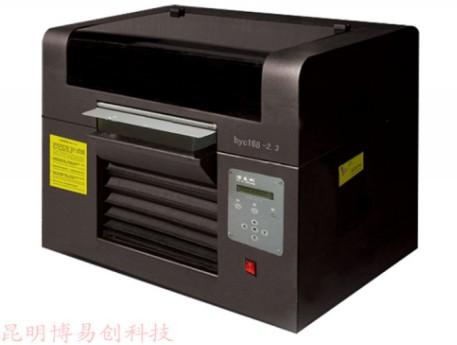 皮箱彩绘机 邯郸印图机 万能打印机 皮革彩印机