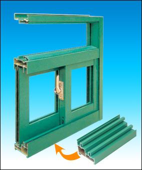 江阴海达生产名牌铝型材