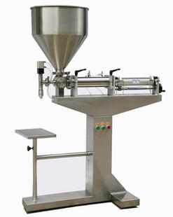 新型立式膏体灌装机/活塞式灌装机/立式灌装机/酱类灌装机