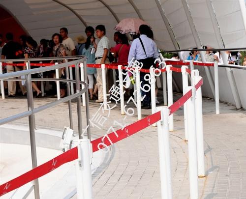一米线围栏银行一米线护栏伸缩隔离栏