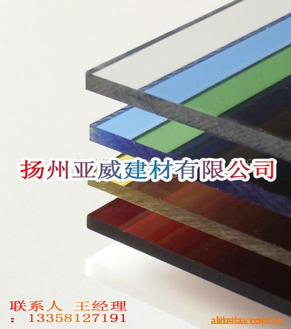 广告灯箱材料PC板、PVC板