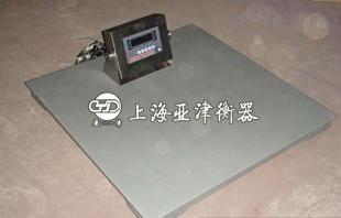 称钢材的5吨单层电子平台秤/电子磅