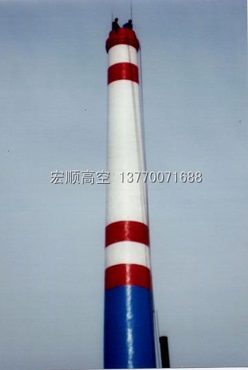 江苏供烟囱美化、烟筒美化工程