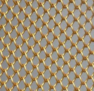 低碳钢丝勾花网规格