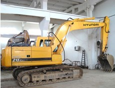 国产二手现代挖掘机现货直供,纯原装进口