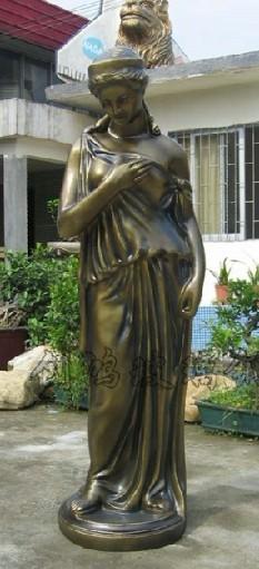 玻璃钢人物雕塑,欧式人物雕塑