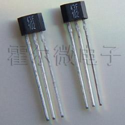 43F电机测速霍尔传感器 里程表霍尔开关 高温磁控管