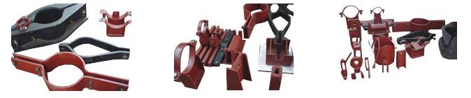 单孔吊板、单向滚动吊板、紧固件、连接件