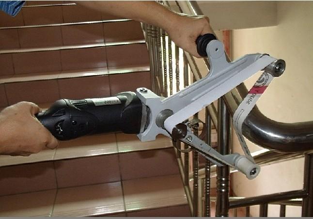 手提式抛管机,不锈钢管抛光机,圆管抛光拉丝机