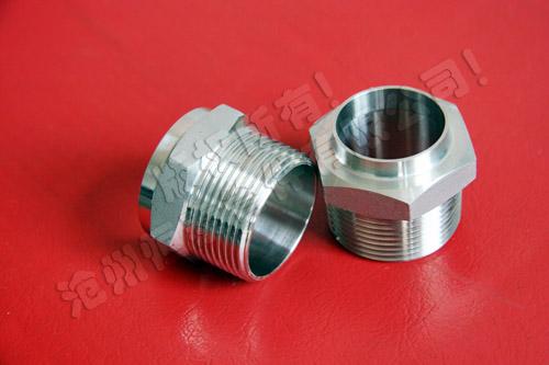 供应不锈钢接头 螺纹管件 转换接头