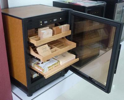 青岛鑫鸿比士亚雪茄柜,电子雪茄柜,定制雪茄柜, 恒温恒湿雪茄柜,