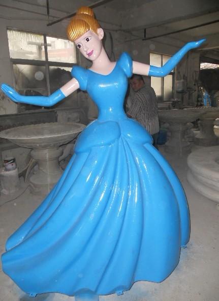 玻璃钢卡通雕塑、玻璃钢卡通公仔雕塑、玻璃钢卡通动漫雕塑