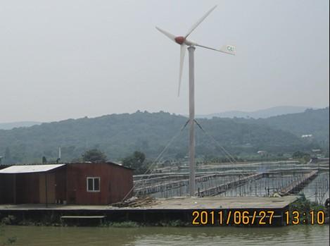 海岛渔船专用风力发电机,山东船用小型风力发电机生产