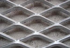 金同金属板拉伸网 钢板网