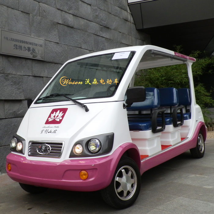 环保电动观光车价格老年观光代步车