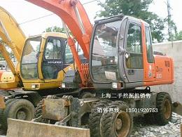 轮式二手挖掘机价格www.5858wjj.com〖二手日立挖掘机