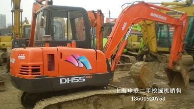 斗山55-7二手小型挖掘机交易市场www.5858wjj.com