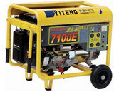 6KW移动式汽油发电机 静音汽油发电机