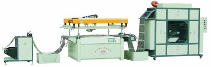全自动地热膜丝网印刷机