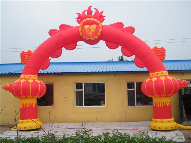 厂家专业出租出售拱门空飘球城堡