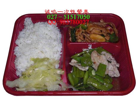 一次性餐具 快餐盒 饭盒 便当盒 外卖差餐盒2