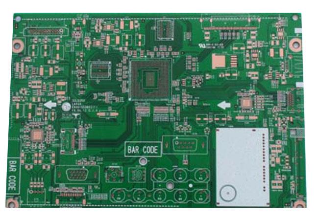 厂家专业制造高精密度双面及多层线路板