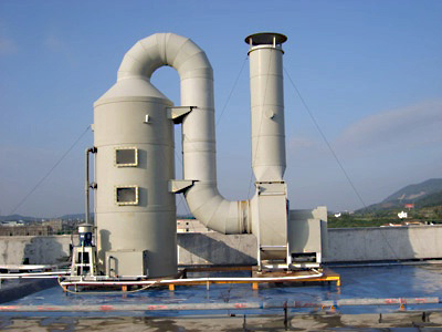 工业酸碱废气处理塔