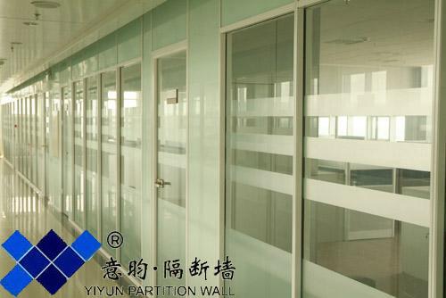 厦门双层玻璃隔断内置百叶帘