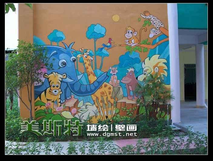 东莞手绘墙
