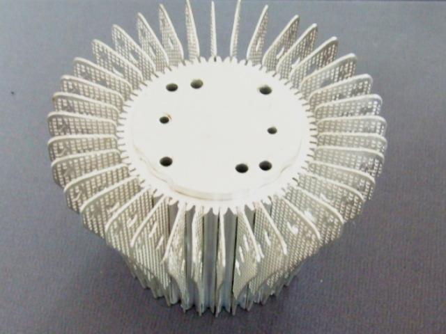 太阳花 插片散热器 LED灯散热器