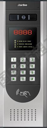 JB-1000AD-10可视楼宇对讲主机