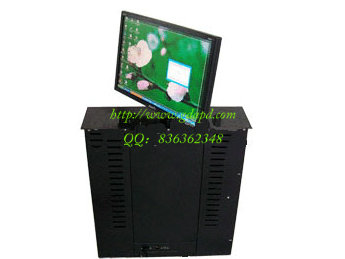 液晶屏地面升降架-多功能会议系统设备-电视机架