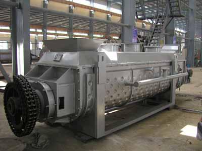 污泥专用桨叶干燥机、干燥设备、烘干机
