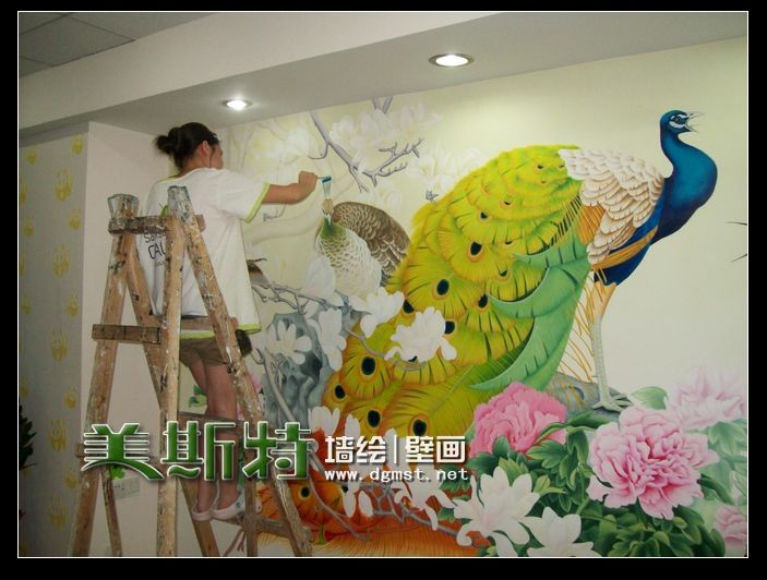 """墙绘   墙绘新作""""变形金刚来袭""""   深圳专业墙绘-深圳3d立体"""