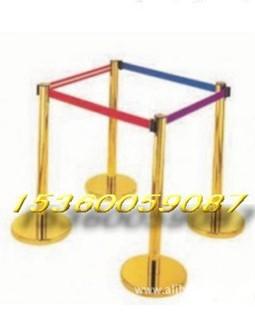 隔离带、不锈钢栏杆座、警戒线安全护围栏银行一米线、丝印伸缩带