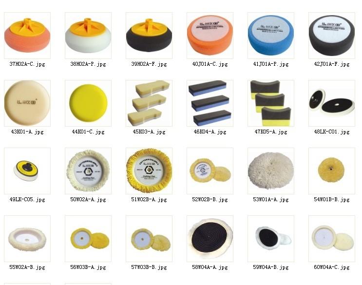 供洗车绵、研磨盘、抛光盘、还原盘、封釉盘、打磨球,羊毛抛光球等