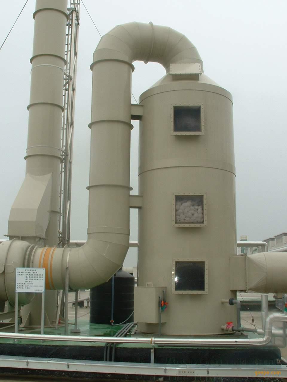 绿深供应PP喷淋塔、洗涤塔、酸洗槽(中国 广东)