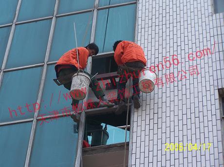 天津玻璃幕墙铝板更换安装施工