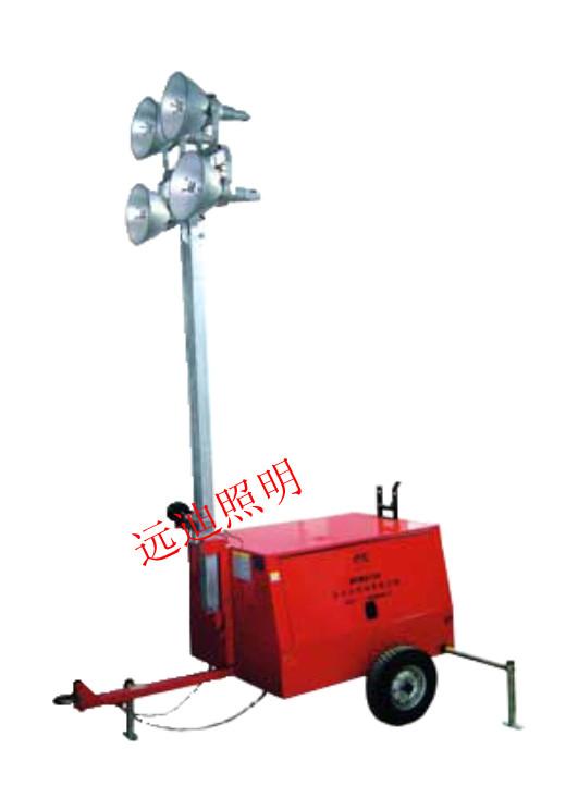 武汉厂价SFW6130全方位拖车照明灯塔直销重庆地区,消防应急灯