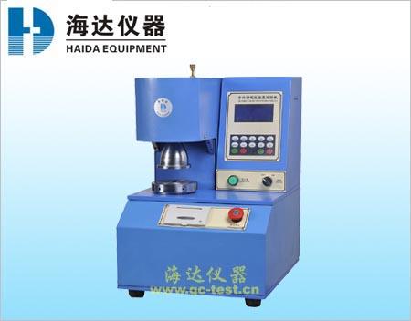江西破裂机-HD-504A-1纸箱破裂强度试验机-南昌破裂机销售