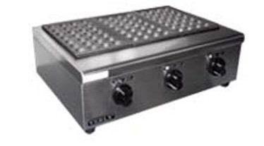 三头电热鱼丸炉|商用型鱼丸炉|章鱼丸机|燃气章鱼小丸子机