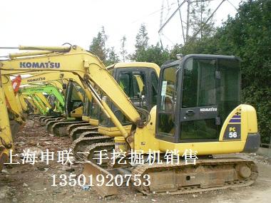 纯进口二手小型挖掘机小松56-7急售-手续齐全;二手进口挖掘机