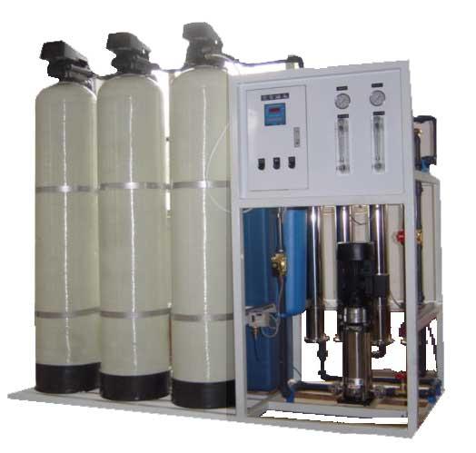 1T/H单级纯净水设备 水处理设备