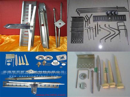 高温锚固件 不锈钢/氧化铝锚固件 模块专用锚固件