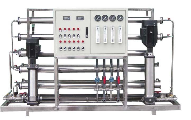 1T/H双级纯净水设备 水处理设备