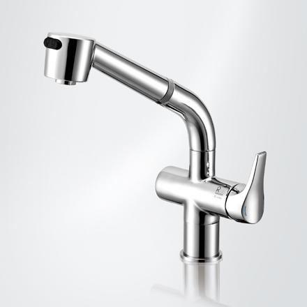 立式厨房龙头 型号RKS130AR6    可转动抽拉式水嘴