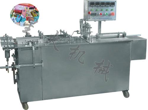 保健品包装机-长沙XH-Ⅱ型半自动三维包装机