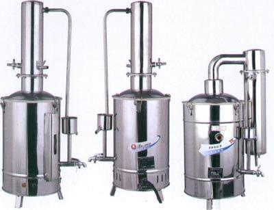 不锈钢电热蒸馏水器5升,10升,20升电热蒸馏水器,纯水器