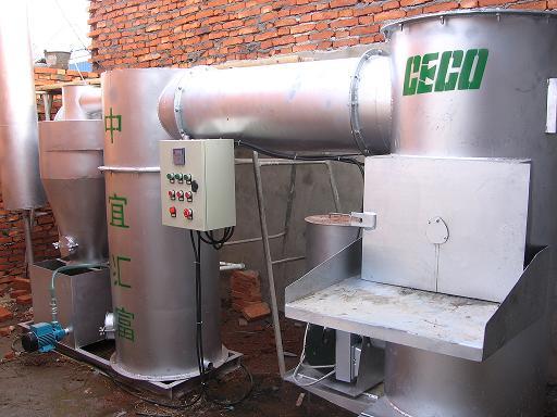 医疗废弃物焚烧炉拥有除臭装置